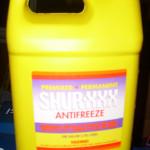 generic gallon of antifreeze